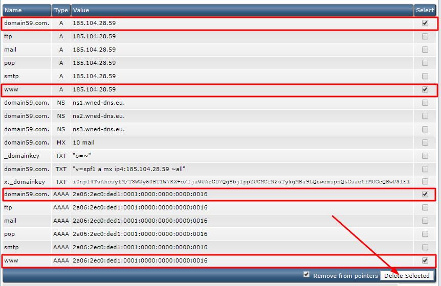DNS-verwijderen-voor-WIX